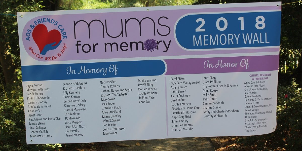 Mums for Memory