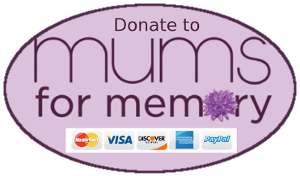 Mums for Memory Button