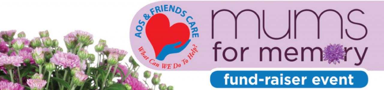 Mums for Memory Fund-Raiser Header